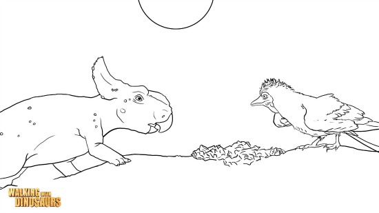walking with dinosaurs coloring pages - photo #26