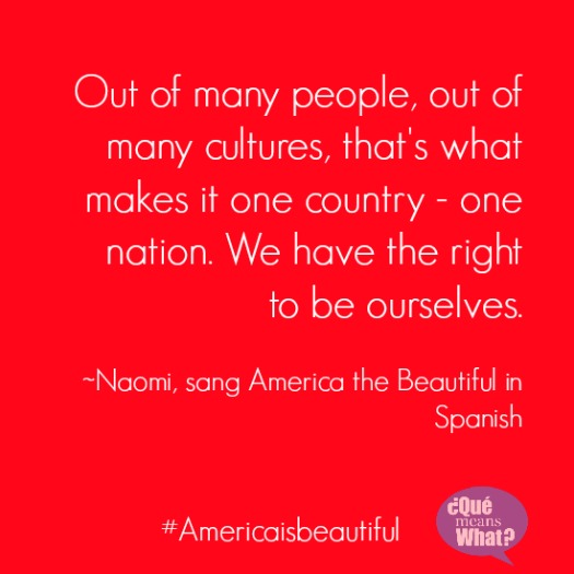 Many cultures One country Quote Americaisbeautiful