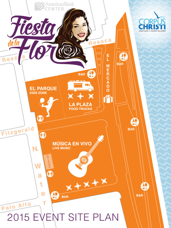 Fiesta de la Flor Site Map