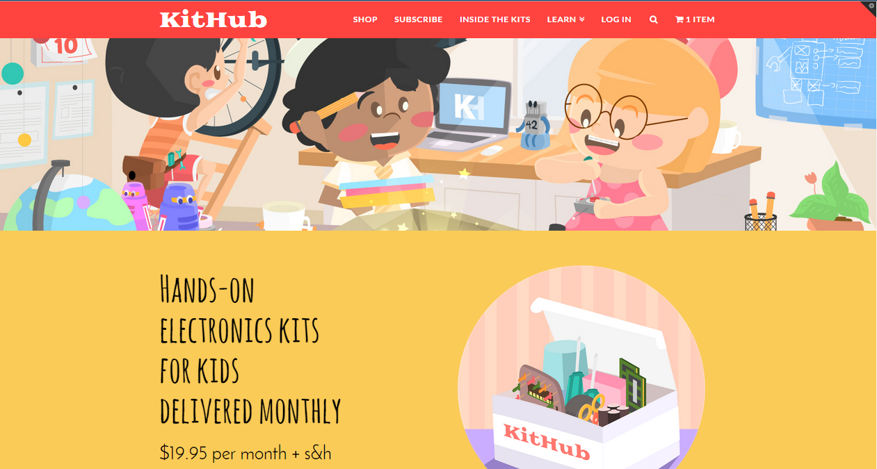 Lets Talk About Our Latino Kids In Stem Programs Resources And Electronic Kits For Kithub Monthly Subscribtion
