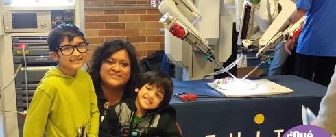 DaVinci Surgical Robot at CTMC QueMeansWhat