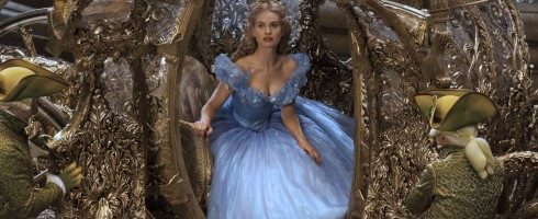 Lily James is Cinderella in Disney's live-action feature inspired by the classic fairy tale, CINDERELLA, which brings to life the timeless images in Disney's 1950 animated masterpiece as fully-realized characters in a visually-dazzling spectacle for a whole new generation.