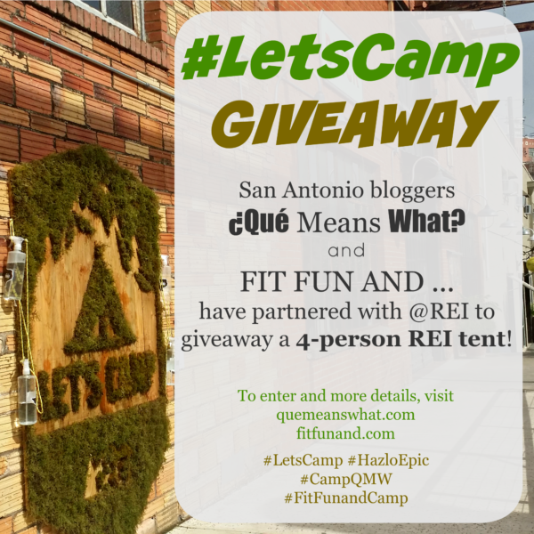 REI letscamp giveaway