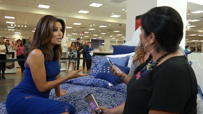 Eva Longoria Interview at JCPenney