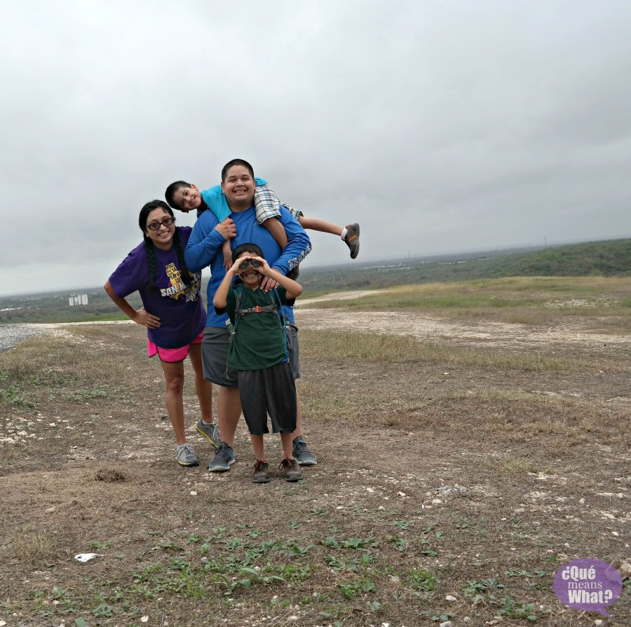Family Time at Pearsall Park Trailhead - Que Means What