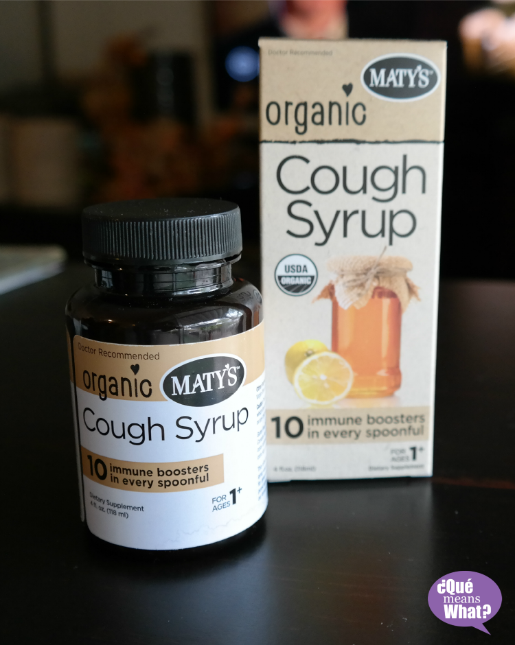 Maty's Organic Cough Syrup Review on QueMeansWhat