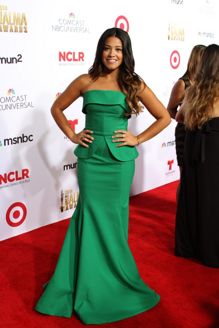 Actress Gina Rodriguez at the 2014 Alma Awards