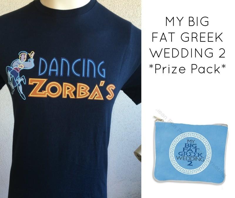 My Big Fat Greek Wedding 2 Prize Pack