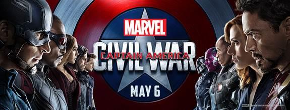 Captain America Civil War Release May 6