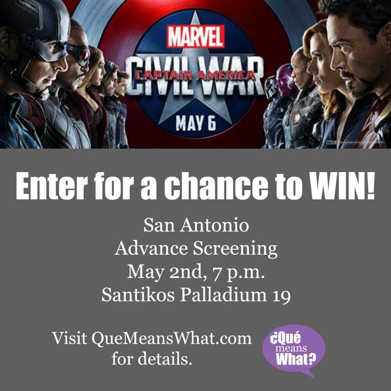 Win Tickets to Captain America Civil War