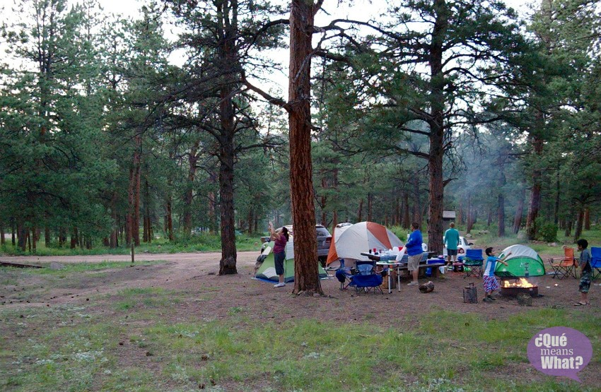 Buffalo Campground Pike National Forest Camping