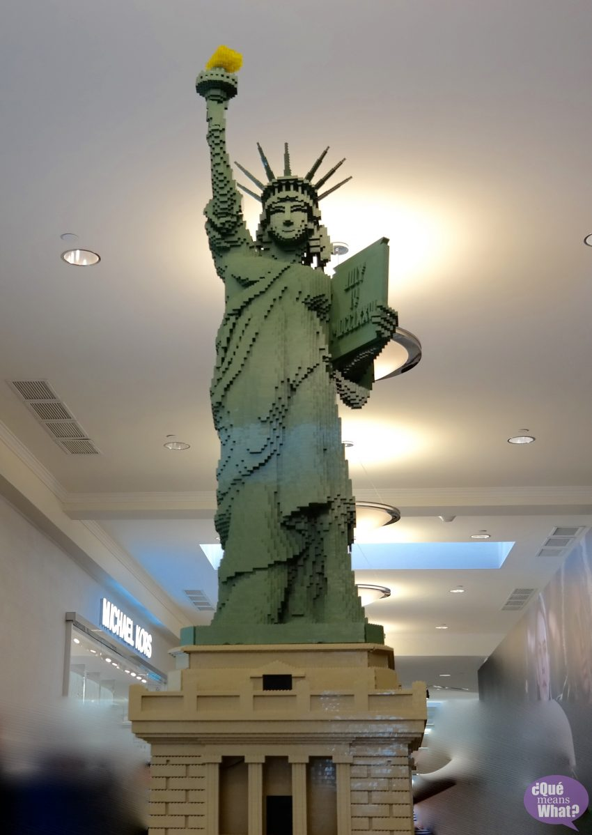 Statue of Liberty LEGO Americana Roadshow