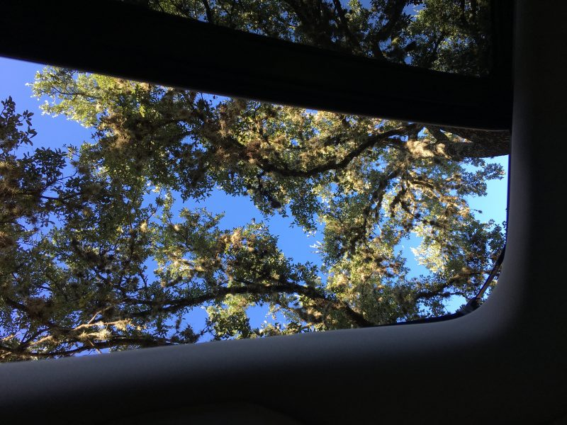 Chrysler Pacifica Review - Sunroofs from Front Seat to Rear Seat
