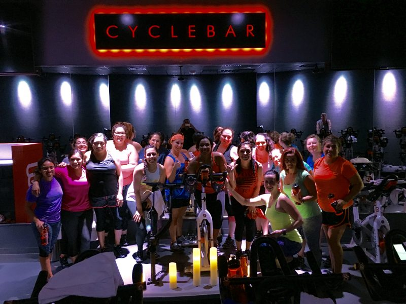 Show Up To Challenge Yourself With Indoor Cycling At Cyclebar Stone Oak