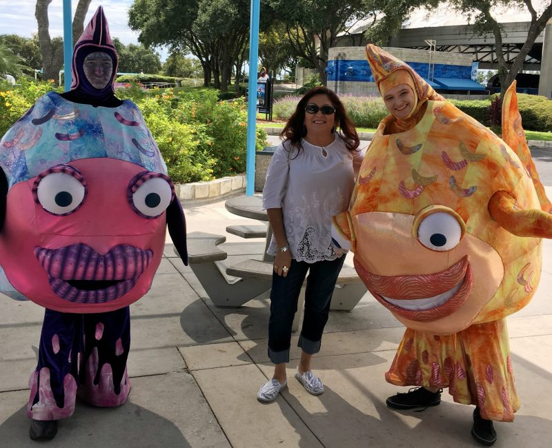 Sea Creatures at Spooktacular at Sea World San Antonio - Que Means What
