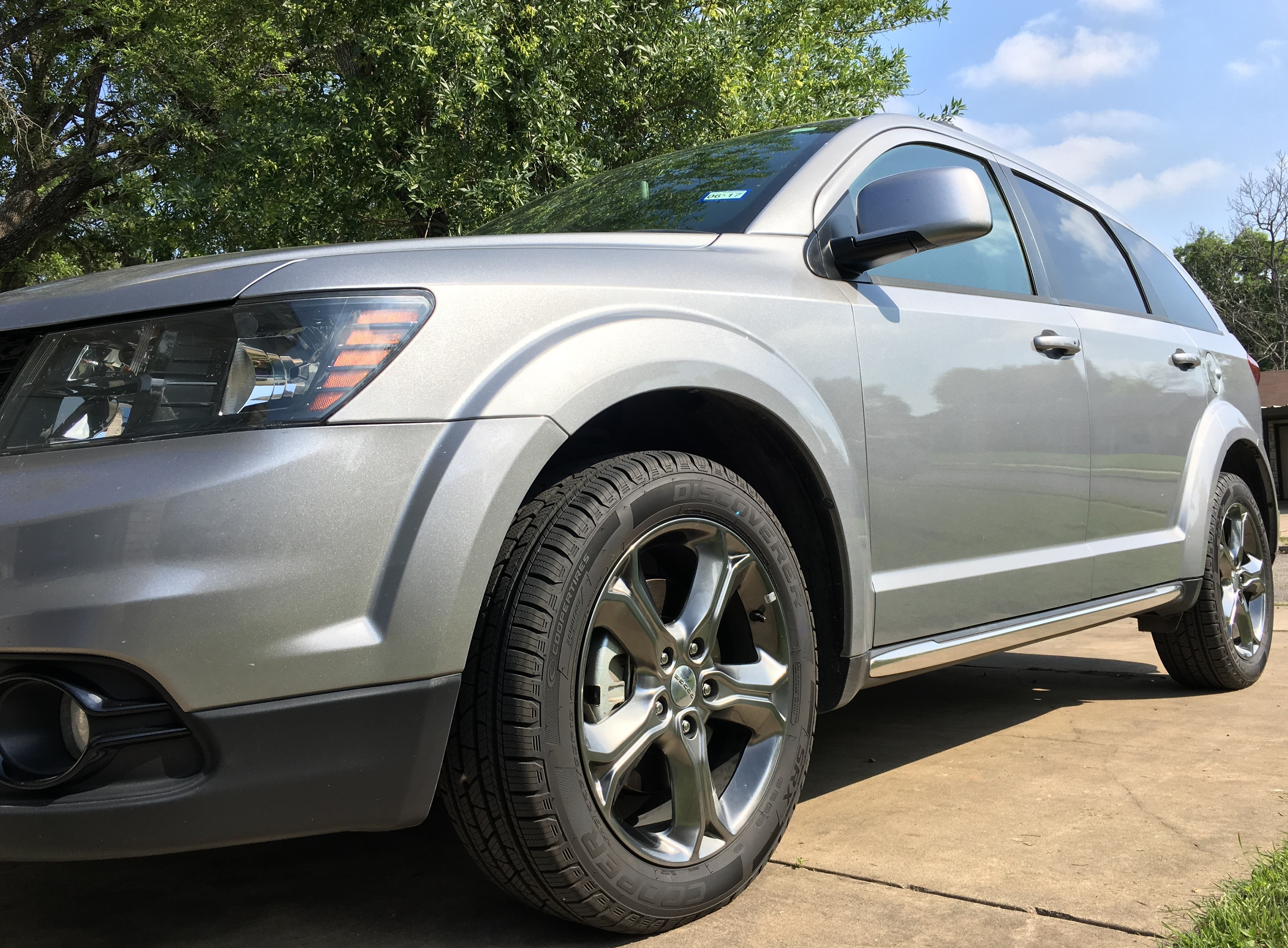 New Tires on Family Car - Cooper Tires