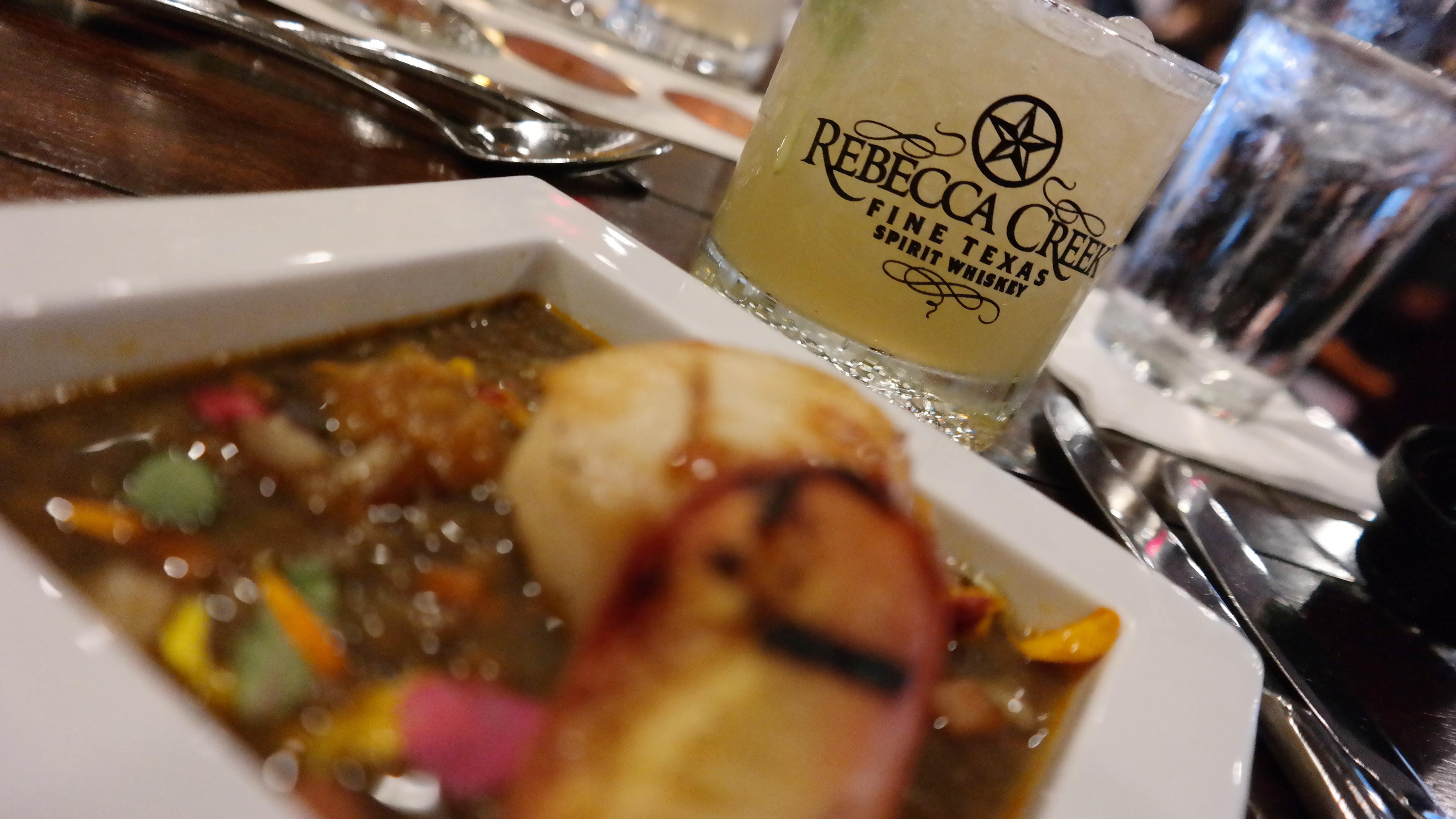Rebecca Creek Whiskey Dinner at San Antonio Marriott Rivercenter - QueMeansWhat.com