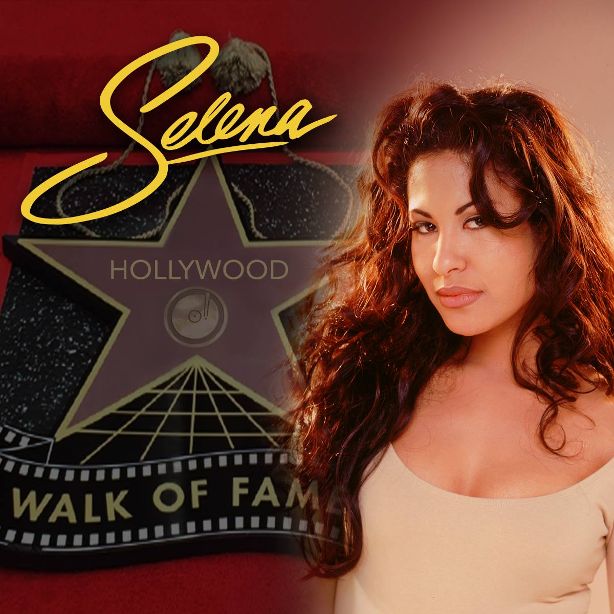 Selena's Star - Hollywood Walk of Fame