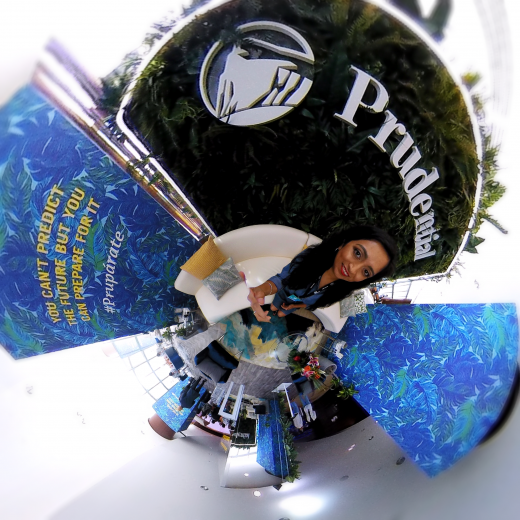 TINY PLANET - 360° Photos of Prudential Suite Financially Planning for Your Future HIspanicize 2018