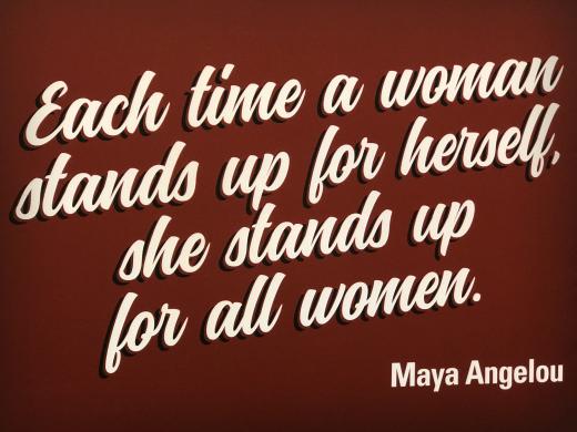 Maya Angelou Quote TXConfWomen