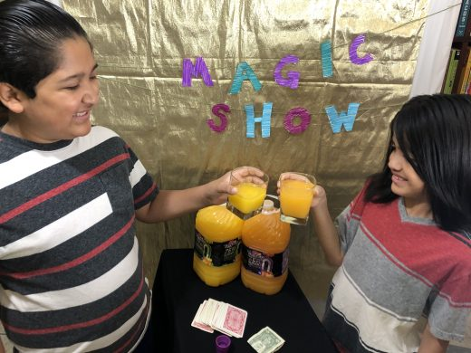 A Magic Show with Kids is a Fun Project