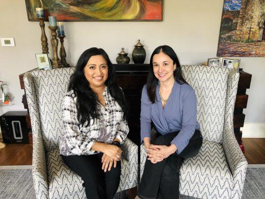 Latinas Who Lead - Photo of Melanie and Dr. Erika Gonzalez